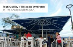 High Quality Telescopic Umbrellas at The Shade Experts USA