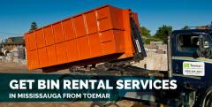 Get Bin Rental Services in Mississauga from Toemar