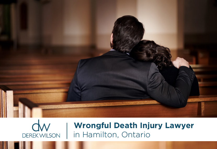 Derek Wilson - Wrongful Death Injury Lawyer in Hamilton, Ontario