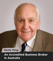 Denis King - An Accredited Business Broker in Australia