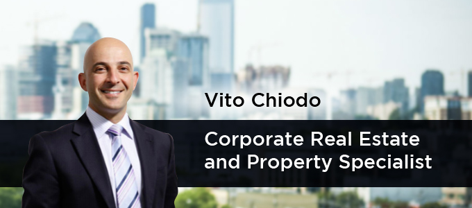 Vito Chiodo - Corporate Real Estate and Property Specialist