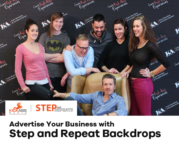 Advertise Your Business with Step and Repeat Backdrops