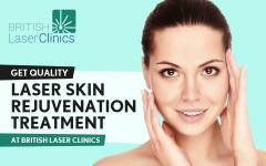 Get Quality Laser Skin Rejuvenation Treatment at British Laser Clinics