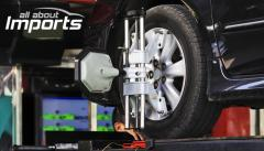 Computerized Car Wheel Alignment and Balancing at All About Imports