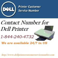 contact number for dell printer