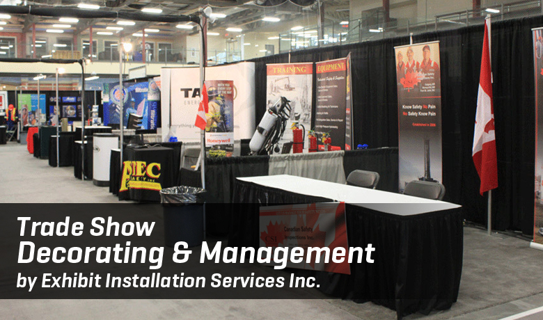 Trade Show Decorating & Management by Exhibit Installation Services Inc