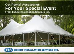 Get Rental Accessories For Your Special Event From Exhibit Installation Services Inc