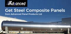 Get Steel Composite Panels from Advanced Panel Products Ltd