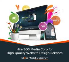 Hire SOS Media Corp for High Quality Website Design Services