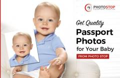 Get Quality Passport Photos for Your Baby From Photo Stop