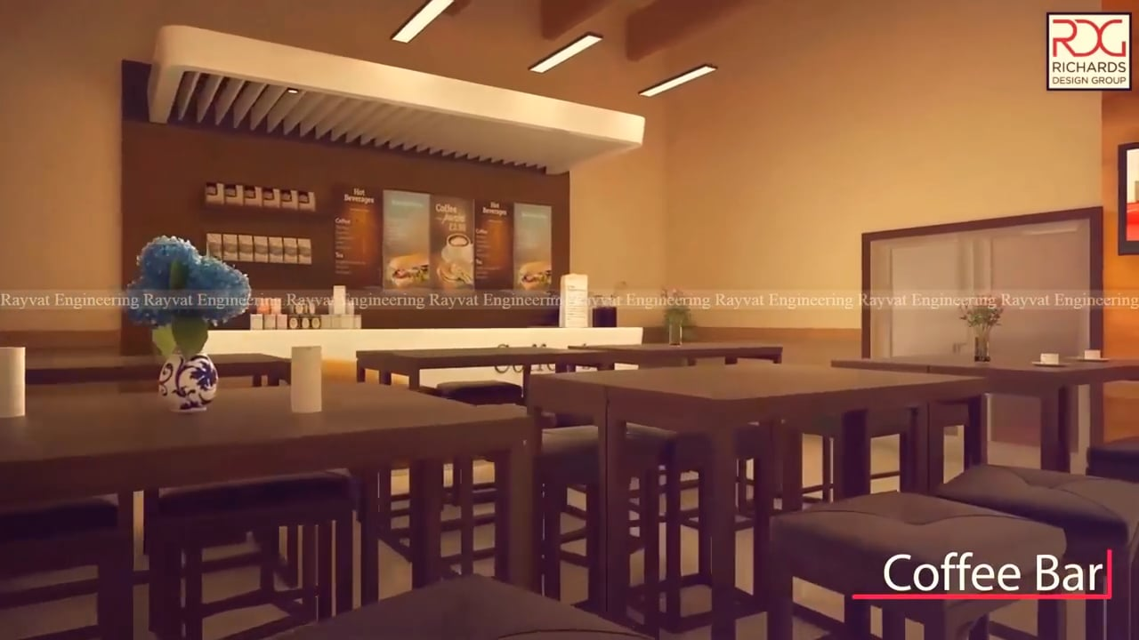 3D Walkthrough Animation of Life Church interior, based in Canada
