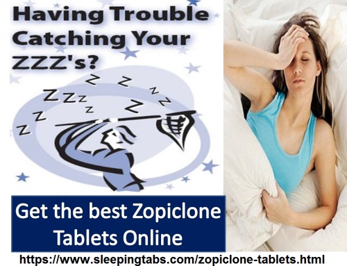 Achieve Peaceful and Restful Sleep with Effective Zopiclone Tablets