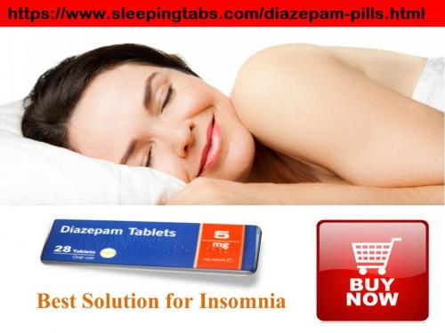 Diazepam Tablets to treat sleep disorder and restless legs syndrome