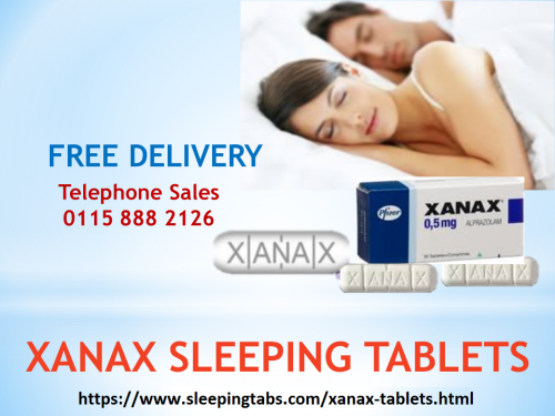 Xanax Tablets - Overcome Sleep Disorders with Ease