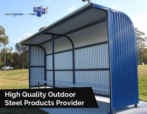 Steel Post and Rail – High Quality Outdoor Steel Products Provider